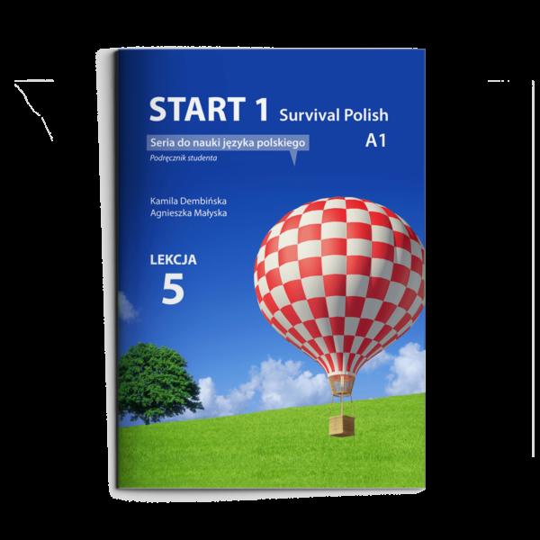 Strat 2 Survival Polish Seria do nauki jezyka polskiego Podrecznik studenta