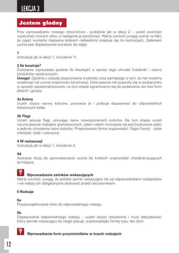 Przykladowa strona z ksiazki Start 1 Survival Polish Zeszyt lektora