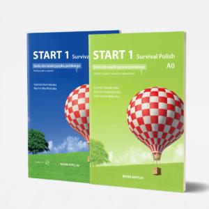 Zestaw Start 1 seria do nauki jezyka polskiego poziom A0