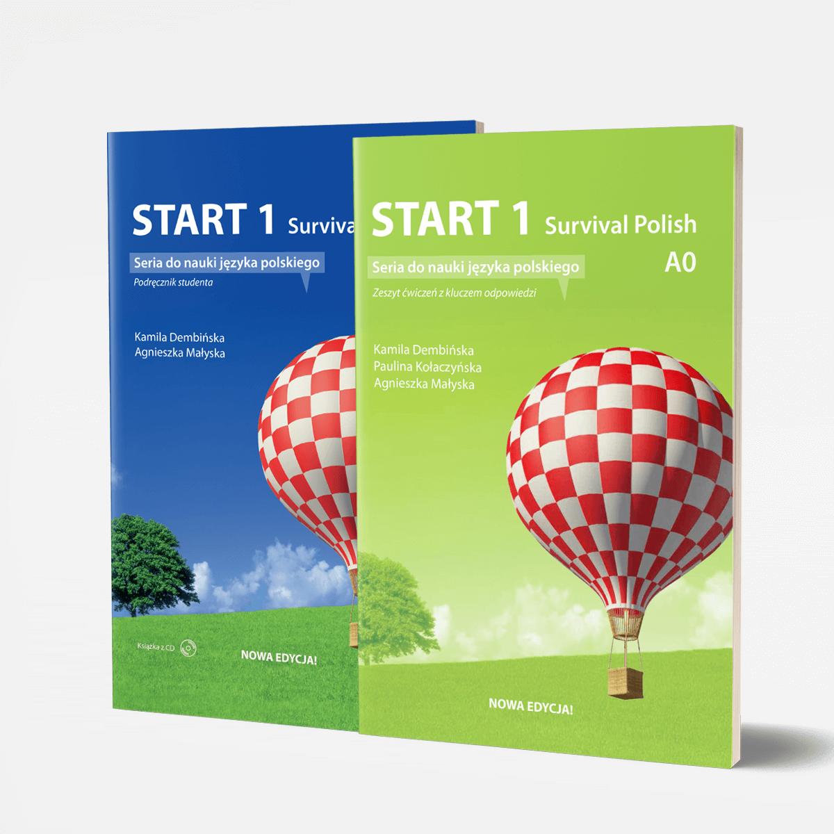 Zestaw START 1 podręcznik + ćwiczenia