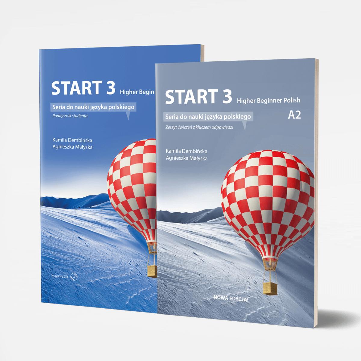Zestaw START 3 podręcznik + ćwiczenia