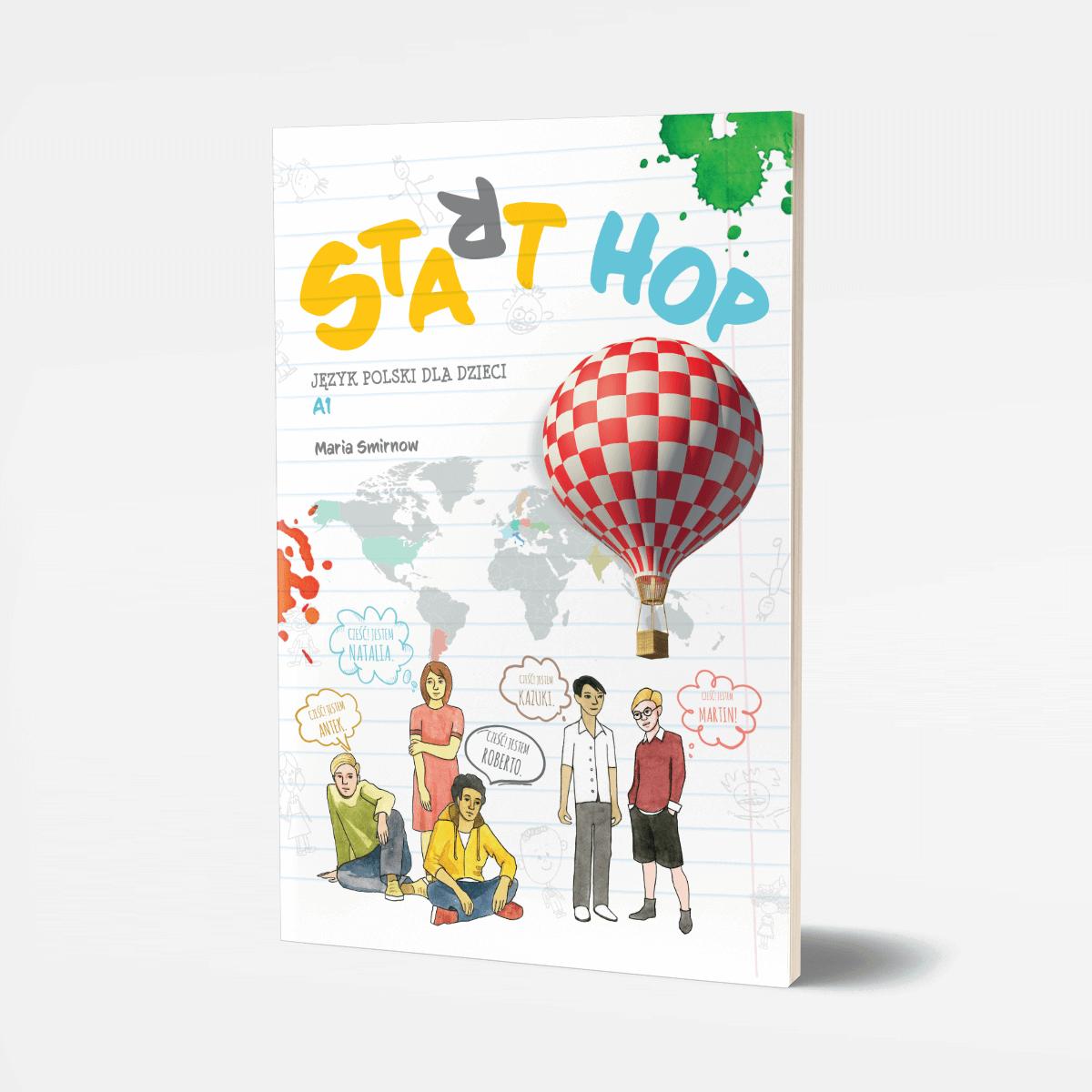 START HOP. Język polski dla dzieci. Wersja Flipbook